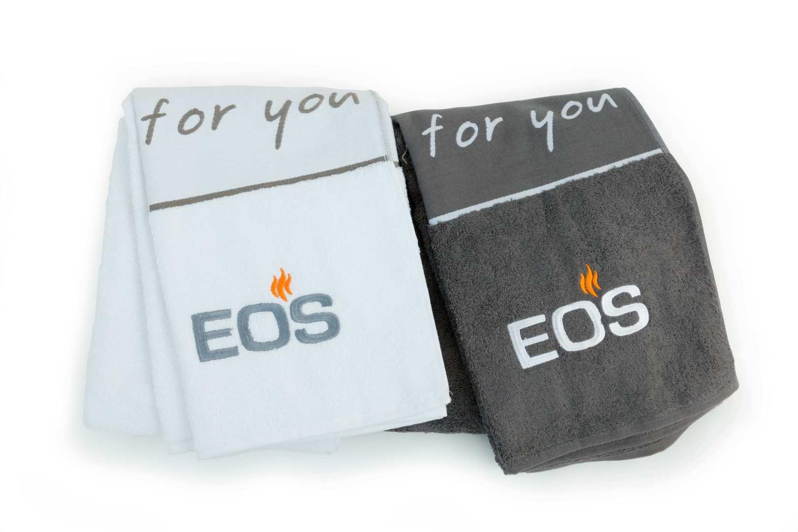 EOS Saunabadetuch 70x200 cm - 100% Baumwolle - weiß 94.6389