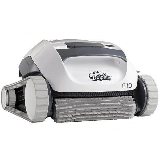 Dolphin E25 Poolroboter Poolsauger mit Aktivbürste und Filterkorb
