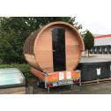 Alpha Saunafass Außen Sauna Fasssauna Barrel Outdoor 4 Personen Ausstellungsstück