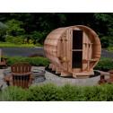 Grandview Barrel 7+1 Saunafass by Almost Heaven Saunas