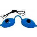 Solarium Schutzbrille Super Sunnies blau
