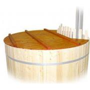 Fonteyn Luxe Holzabdeckung für Hottube 160