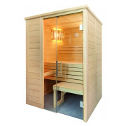 Domo by Sentiotec Alaska Mini Massivsauna Saunakabine