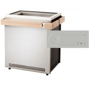 Saunaofen Set Sentiotec Concept R mit Just Sauna Fin Saunasteuerung weiß