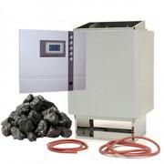 time4wellness Saunaofen 7,5 kW mit Saunasteuerung EOS ECON D1 Saunasteuerung