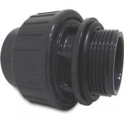 Mega Verschraubung Mit O-Ring PVC-U 50 mm x 1 1/2