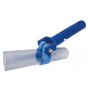 Saugdüse rund 38 mm mit Adapter zum Anbau an den Fango-Saugschlauch