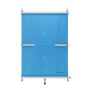 BAC Rollschutzabdeckung für einen Pool 700 cm x 350 cm Blau