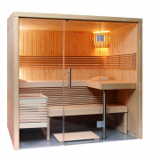 Domo by Sentiotec Panorama Small Elementsauna Saunakabine