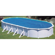 Ovalformbecken-Set Classic - 610x375x120 cm - 21 m³
