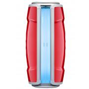 Hapro Standsolarium Proline 28 V Intensive Lounge Red