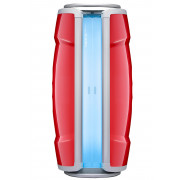 Hapro Standsolarium Proline 28 V Lounge Red