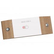 Sentiotec wave.com4 SwitchBox dunkles Holz