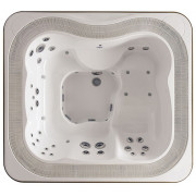 Fonteyn Spas Whirlpool Profile - Top White Stereo