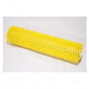 Walzenbürste gelb mittelweich für Bisam Bürste