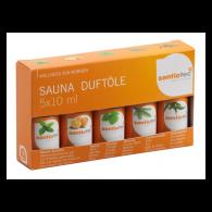 Sentiotec Sauna Duftölset , 5 x 10 ml