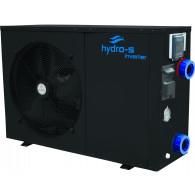Hydro-S Wärmepumpe Stahl Typ XP Inverter Seitlich