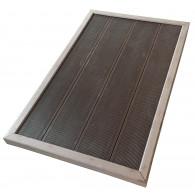 Bodenplatte für Gartenduschen und Poolleitern