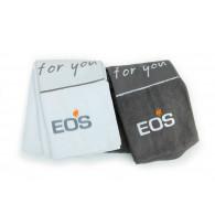 EOS Saunabadetuch 70x200 cm - 100%  Baumwolle - weiß