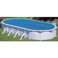 Ovalformbecken-Set Classic - 500x300x120 cm - 13,5 m³