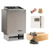 Sauna-Set EOS 34.A Saunaofen mit Steuerung EOS Econ D2 und Steine time4wellness