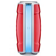 Hapro Standsolarium Proline 28 V Lounge Red