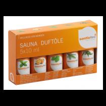 Sentiotec Sauna *Doftölset* , 5 x 10 ml