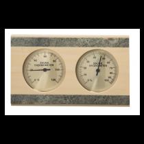 Sentiotec Thermo-Hygrometer ,  Espe mit Speckstein