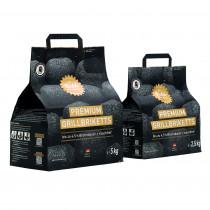 Die Kohle Manufaktur Premium Grillbriketts 2,5 kg  long tasting