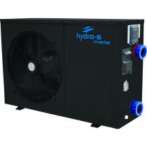 Hydro-S Wärmepumpe Stahl Typ Inverter Seitlich
