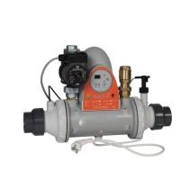 Zodiac Heat Line Wärmetauscher mit Steuerung und Pumpe