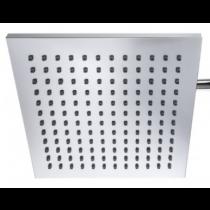 Inox Duschkopf chrom für 40+60 Ltr. 200 x 200 mm
