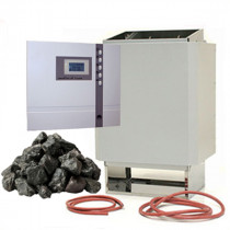time4wellness Saunaofen 7,5 kW mit Saunasteuerung EOS ECON D1