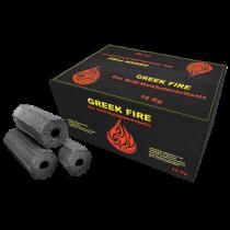 Greek Fire Holzkohlebriketts 10kg Holzkohle Kohle