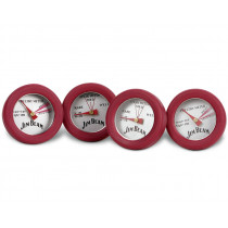 4x Jim Beam BBQ-Minithermometer