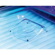 New Technology Kopfpolster Acryl mit Puffer 18x17x1,5 cm