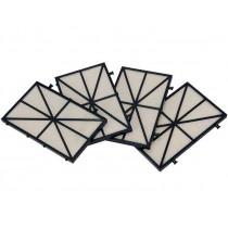 Marlin Ersatzfilter Kartuschenfiltereinsatz Standard 70 Micron