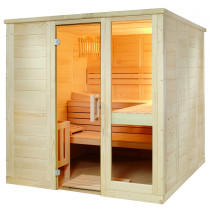 Sentiotec Komfort Small  Massivsauna by Domo