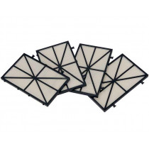 Marlin Ersatzfilter Laubfilter Grob 100 Micron