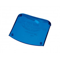 New Technology Kopfpolster Acrylkopfstütze blau-transparent