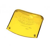New Technology Kopfpolster Acrylkopfstütze gelb-transparent