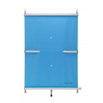 BAC Rollschutzabdeckung für einen Pool 1000 cm x 500 cm Blau