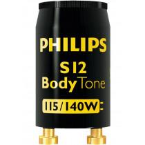 Philips S12 BodyTone Glimm Starter Solarium