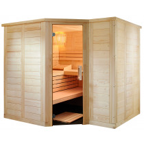 Domo by Sentiotec Polaris Large Massivsauna Saunakabine