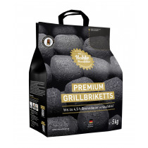 Die Kohle Manufaktur Premium Grillbriketts 5 kg  long tasting