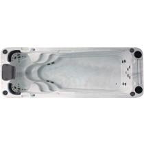 Passion Spas Schwimm-Spa Aquatic 2 Sterling Weiß mit Grau