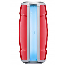 Hapro Standsolarium Proline 28 V Intensive Lounge Red