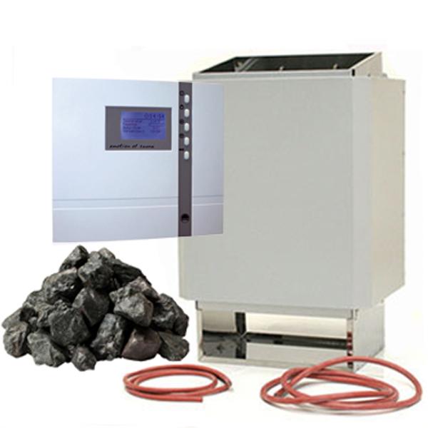 time4wellness Saunaofen 7,5 kW mit Saunasteuerung EOS ECON D2 Saunasteuerung 94.5204