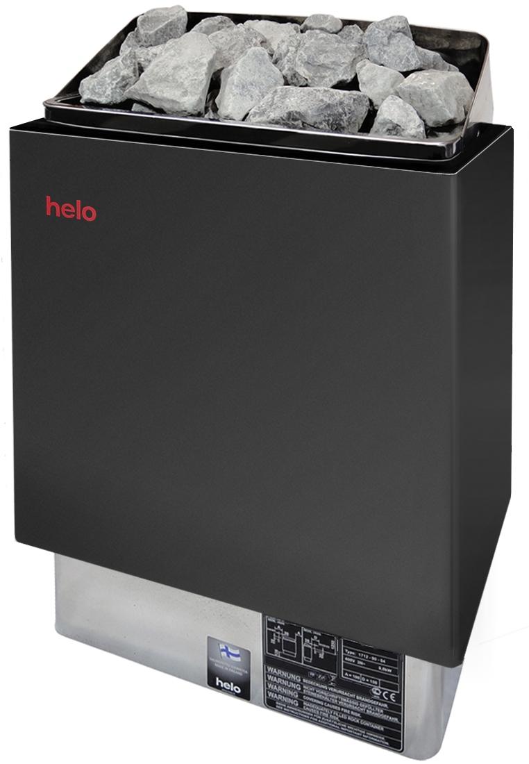 Helo Cup 80 D finnischer Saunaofen Graphite 8 kW