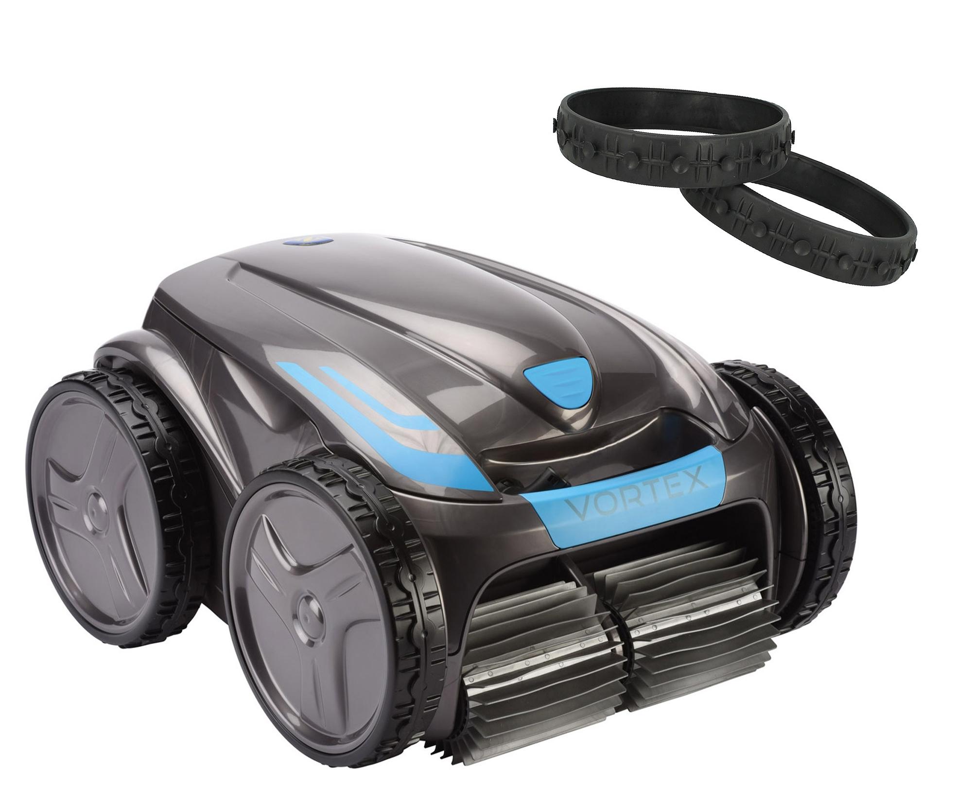 Zodiac Vortex OV 5300 SW Poolroboter Poolsauger mit Noppenreifen Set WR000162